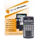 ScreenProtect Displayschutzfolie UltraClearfür TI-30 eco RS und TI-30 Xa