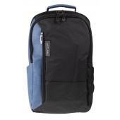 BESTLIFE Titan Business Rucksack für Laptop schwarz/blau