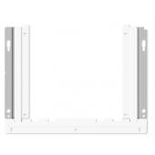 SMS Slim Fixed - Befestigungskit (Wandbefestigung) für LCD-Display - weiß, Silber -