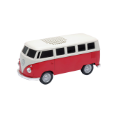 VW Bus Speaker, rot