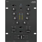 IMG STAGELINE MPX-1/BK Stereo-DJ-Mischpult
