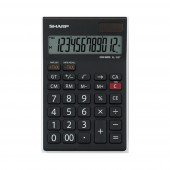 Sharp EL-125 T WH - anzeigender Tischrechner