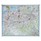 Legamaster Kartentafel PROFESSIONAL Belgien (Straßen)
