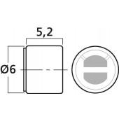 MONACOR MCE-4001 Qualitäts-Subminiatur-Elektret-Mikrofonkapsel