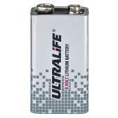 "MONACOR ULTRALIFE 9-V-Lithium-Blockbatterie, ""High-Energy"""