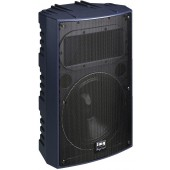 IMG STAGELINE PAB-512/BL Profi-PA-Lautsprecherbox, 250W, 8O