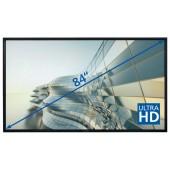 "Legamaster e-Screen STX-8400UHD - 84"" Touch-Display - black"
