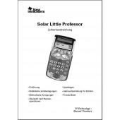 Lehrerhandbuch für TI-Little Professor Solar