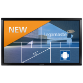 Legamaster e-Screen ETX-6500 black