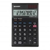 Sharp EL-128 S WH - anzeigender Tischrechner