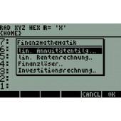 Finanz-Mathematik für HP-50 G und HP-49 G+ inkl. 1 GB-SD-Card