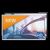 Legamaster e-Screen PTX-8500UHD white