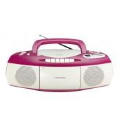 Grundig RRCD 1400 - Radio-Recoder - pink