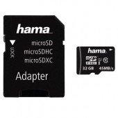 Hama microSDHC 32GB Class 10 UHS-I
