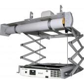 PETA Deckenlift Ultraflach S max. Belastung 20,0kg Einbauhoehe 175mm plus Beamer 120 cm Hub