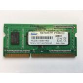 EUDAR 2GB RAM DDR3 1033 SO-DIMM PC3-10600 Arbeitsspeicher