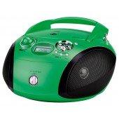 Grundig RCD 1445 USB - CD-Radio - grün/schwarz