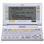 Sharp PW-E420 - elektronisches Wörterbuch inkl. Schutztasche