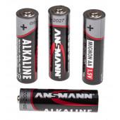 Batterie-Set AA LR6 Inhalt 4 Stück