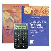 Bundle HP-10 BII + und Bücher - FQ-Finanzielle Intelligenz / Rechentraining f.Finanzdienstleister