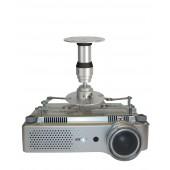 MEDIUM Deckenhalterung Prestige feste Länge 15 cm max. Belastung 25,0 kg Aluminium(P)
