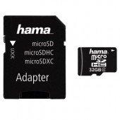 Hama microSDHC 32GB Class 4
