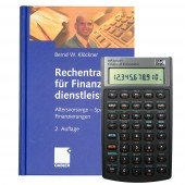 Bundle HP-10 BII+ und Buch - Rechentraining für Finanzdienstleister -
