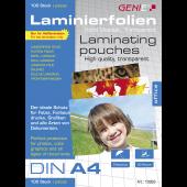 LAMINIERTASCHEN A4 - Folien