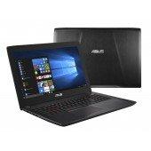 ASUS FX502VM-FY291 2.8GHz i7-7700HQ 15.6Zoll 1920 x 1080Pixel Schwarz Notebook