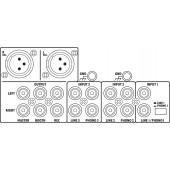 IMG STAGELINE MPX-30DMP Stereo-DJ-Mischpult mit integriertem MP3-Spieler