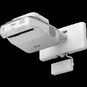 Epson EB-680Wi 3200ANSI Lumen 3LCD WXGA (1280x800) Wand-Projektor Grau, Weiß
