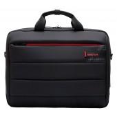 BESTLIFE C Plus Business Umhängetasche für Laptop bis 15,6 Zoll USB & Type-C schwarz