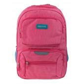 BestLife Schulrucksack für Laptop und Tablet bis 15,6 Zoll Smartphonefach pink / blau