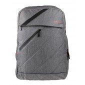 BestLife Rucksack für Laptop bis 15,6 Zoll grau / orange