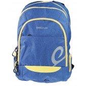 BestLife Rucksack für Laptop bis zu 15,6 Zoll stoßfest blau / gelb / schwarz