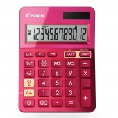 Canon LS-123K MOR - anzeigender Tischrechner - pink