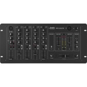 IMG STAGELINE MPX-205/SW Stereo-DJ-Mischpult