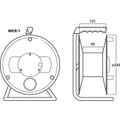 MONACOR MCR-1 Leertrommel