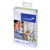 Legamaster Magic-Chart Notes, 10x20cm 500 Stück, 5 verschiedene Farben