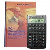 Bundle HP-10 BII+ und Buch - FQ-Finanzielle Intelligenz -