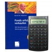 Bundle HP-10 BII+ und Buch - Fonds erfolgreich verkaufen -