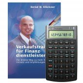 Bundle HP-10 BII+ und Buch - Verkaufstraining für Finanzdienstleister -