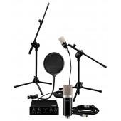 IMG Stageline Songwriter Bundle ECMS-60/70, KM-23956, MS-20/SW, MECN-600/SW, MX-2IO