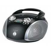 Grundig RCD 1445 USB - CD-Radio - schwarz/silber