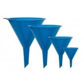 Dynatech Trichter-Satz 4tlg. blau, Durchmesser 50-75-100-125mm