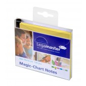 Legamaster 7-159505 Magic-Chart Notes 10x10cm 100 Stück, gelb