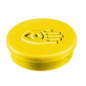 Legamaster 7-181005 Haftmagnete 10 mm, 10 Stück gelb