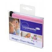 Legamaster Magic-Chart Notes, 10x10cm 100 Stück, rosa