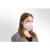 Mund- und Nasen-Maske / Behelfsmaske weiß