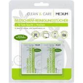 Dynatech Clean & Care ideal für alle Oberflächen 12 Sets einzeln verpackte Reinigungstücher